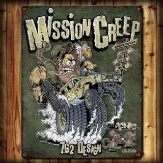 7,62 табличка настенная Mission Creep 29x37