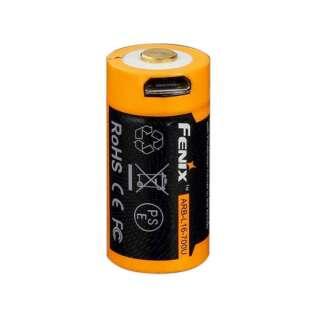 Акумулятор 16340 Fenix 700mAh Li-ion micro usb зарядка
