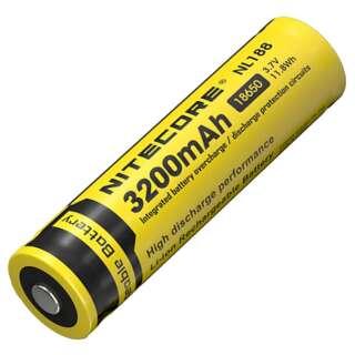 Аккумулятор Li-Ion 18650 Nitecore NL188 3200mAh, Nitecore®