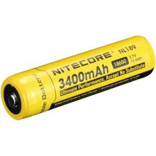 Аккумулятор Li-Ion 18650 Nitecore NL189 3400mAh, Nitecore®