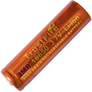 Аккумулятор литиевый Li-Ion 18650 Trustfire 3.7V (1500mAh), защищенный