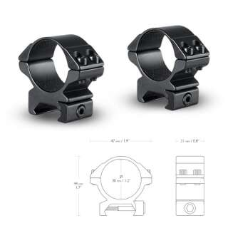 Аксессуары Hawke Кольца Matchmount 30mm/Weaver/Low, Hawke (UK)