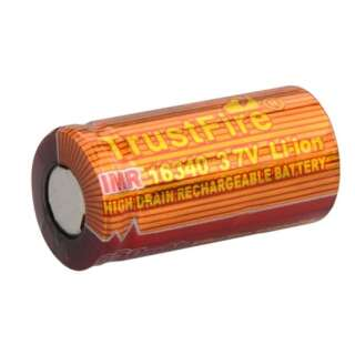 Акумулятор 16340 CR123 650 mAh Trustfire, TrustFire