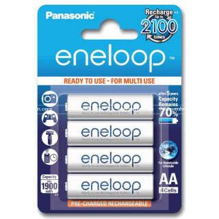 Акумулятор Panasonic Eneloop AA 1900 4BP mAh NI-MH блистер 4 шт