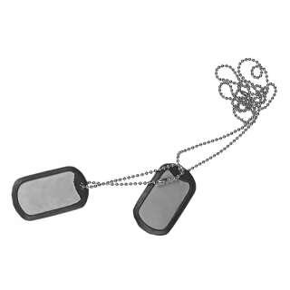 Армейский жетон с глушителем (Dog tag), Metallic, Helikon-Tex