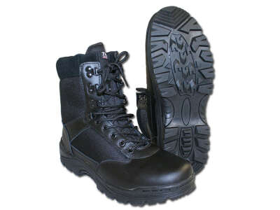 Берцы Mil-Tec SWAT (Черные, black) (12827000), Mil-Tec Sturm
