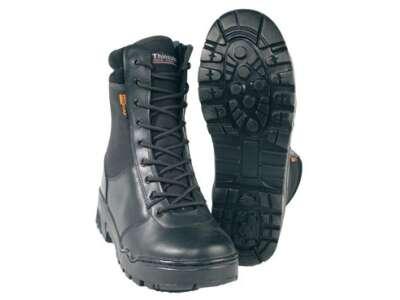 Ботинки Mil-Tec тактические кожаные на молнии (Stiefel Leder, мембрана Dintex) (12822000), Mil-Tec Sturm