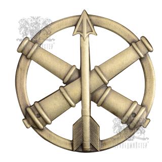 Беретний знак Протиповітряна оборона та зенитно-ракетні війська