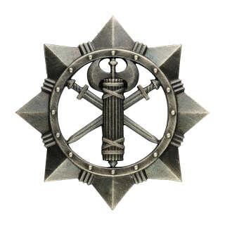 Беретний знак Військової служби правопорядку