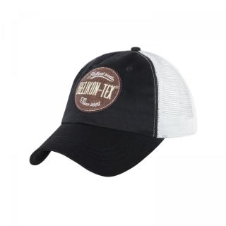 Бейсболка Helikon-Tex Trucker Logo, Black/Khaki, Helikon-Tex®