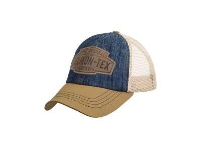 Бейсболка Helikon-Tex Trucker Logo, Denim Blue/Khaki, Helikon-Tex®