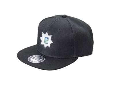 Бейсболка Поліція (Snap Back), Combat Black, P1G-Tac