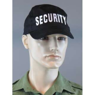 Бейсболка SECURITY, [019] Black, Sturm Mil-Tec®