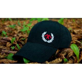 Бейсболка з лого чорна