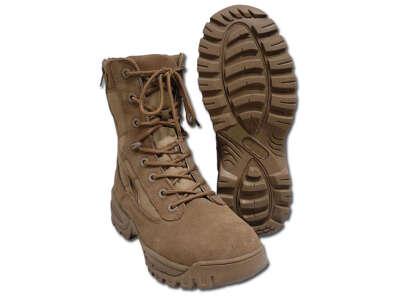 Ботинки Mil-Tec тактические, 2 молнии, (Coyote, койот) – (12822205), Mil-Tec Sturm