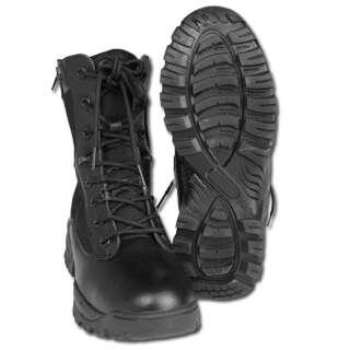 Ботинки Mil-Tec тактические, 2 молнии (Black, черные) (12822202), Mil-Tec Sturm