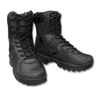 Черевики Mil-Tec Patrol на блискавки (Black, чорні) (12822302), Mil-tec