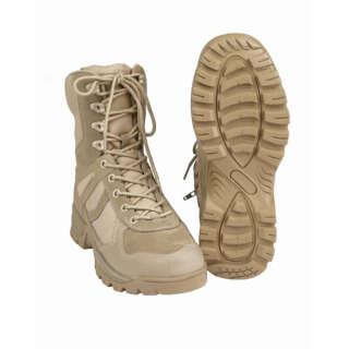 Черевики Mil-Tec Patrol на блискавки (Coyote, койот) (12822305), Mil-tec