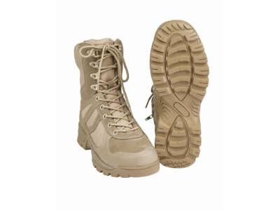 Ботинки демисезонные PATROL на молнии (Coyote) Mil-tec, Mil-Tec Sturm