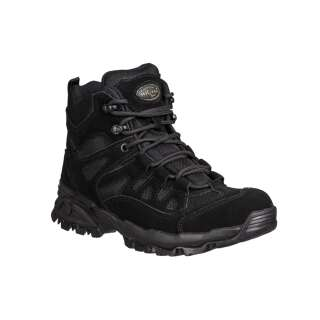 Ботинки Mil-Tec Trooper 5 (Black, черные) – (12824002), Sturm Mil-Tec®