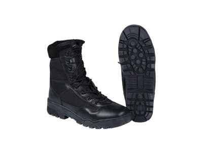 Ботинки кожаные со вставками (муж.), [019] Black, Sturm Mil-Tec® Reenactment
