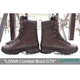 Ботинки LOWA Combat Boot GTX, [112] Dark Brown