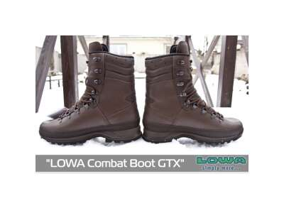 Черевики LOWA Combat Boot GTX, [112] Dark Brown