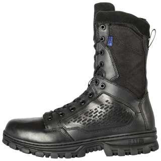 Ботинки влагозащитные 5.11 EVO 8 WATERPROOF BOOT WITH SIDEZIP, [019] Black