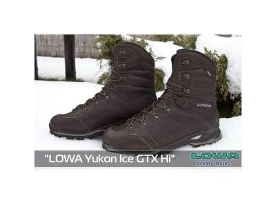 Черевики зимові LOWA Yukon Ice GTX Hi, [112] Dark Brown