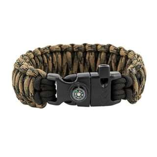 Браслет Подвійна кобра Survival, black and veteran, Aramitex