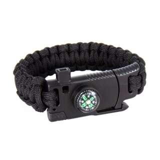 Браслет из паракорда Cobra Survival Paracord Bracelet, Black, P1G®