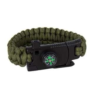 Браслет из паракорда Cobra Survival Paracord Bracelet, Olive, P1G®