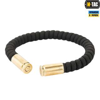 M-Tac браслет паракорд з гільзами 9 мм чорний