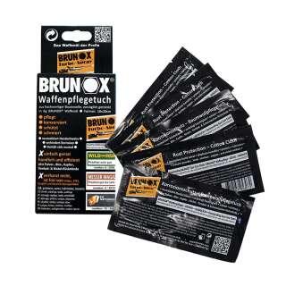 Brunox Gun Care серветки для догляд за зброєю 5шт в коробці, BRUNOX