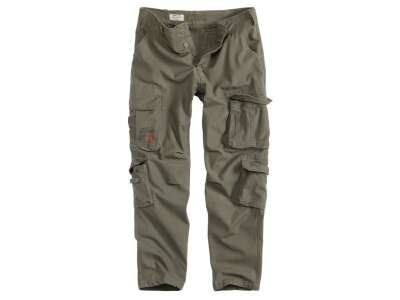 Брюки SURPLUS AIRBORNE TROUSERS SLIMMY, [182] Olive, Surplus Raw Vintage®