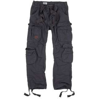 Брюки SURPLUS AIRBORNE VINTAGE TROUSERS, [1122] Antrazit, Surplus Raw Vintage®
