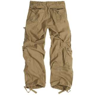 Брюки SURPLUS AIRBORNE VINTAGE TROUSERS, [1344] Washed beige, Surplus Raw Vintage®