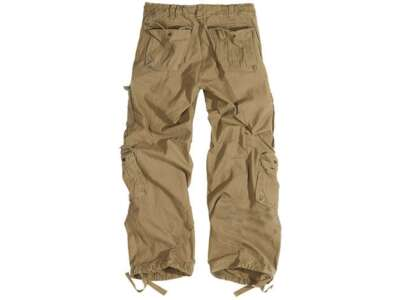 Штани SURPLUS AIRBORNE VINTAGE TROUSERS, [тисячі триста сорок чотири] Washed beige, Surplus