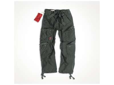 Штани SURPLUS AIRBORNE VINTAGE TROUSERS, [1346] Washed black, Surplus
