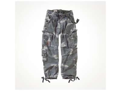 Брюки SURPLUS AIRBORNE VINTAGE TROUSERS, [1348] Washed night camo, Surplus Raw Vintage®