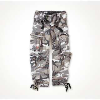 Брюки SURPLUS AIRBORNE VINTAGE TROUSERS, [1350] Washed urban, Surplus Raw Vintage®