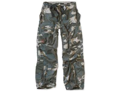 Брюки SURPLUS INFANTRY CARGO, [1256] Night camo, Surplus Raw Vintage®