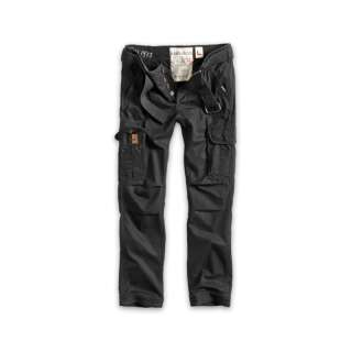 Брюки SURPLUS PREMIUM TROUSERS SLIMMY, [019] Black, Surplus Raw Vintage®