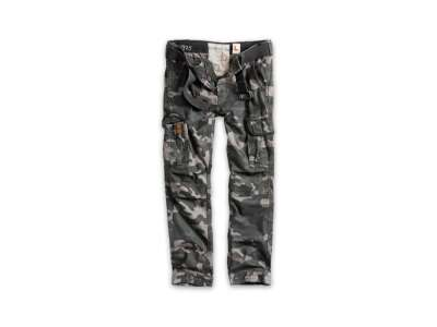 Штани SURPLUS PREMIUM TROUSERS SLIMMY, [1150] Black camo, Surplus