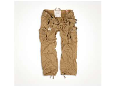 Брюки SURPLUS PREMIUM VINTAGE TROUSERS, [1344] Washed beige, Surplus Raw Vintage®
