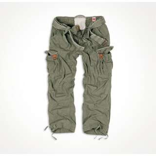 Брюки SURPLUS PREMIUM VINTAGE TROUSERS, [1349] Washed olive, Surplus Raw Vintage®