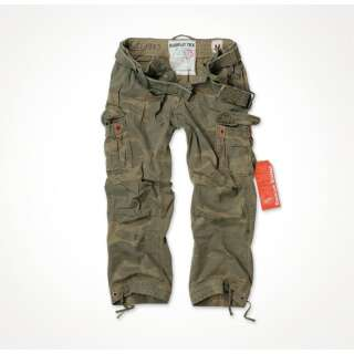 Брюки SURPLUS PREMIUM VINTAGE TROUSERS, [1351] Washed woodland, Surplus Raw Vintage®