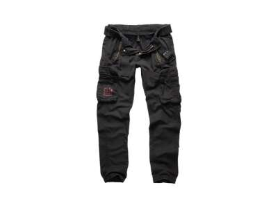 Брюки SURPLUS ROYAL TRAVELER SLIMMY, Washed black, Surplus Raw Vintage®