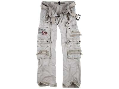 Брюки SURPLUS ROYAL TRAVELER TROUSER, [010] White, Surplus Raw Vintage®