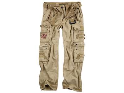 Брюки SURPLUS ROYAL TRAVELER TROUSER, [1134] Beige, Surplus Raw Vintage®